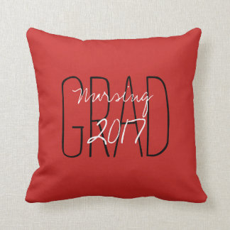 "CHIC PILLOW_""2017 GRAD""  DIY COLOR AND TEXT CUSHION"