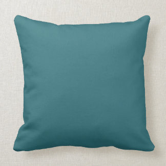CHIC PILLOW _406 TEAL SOLID THROW CUSHIONS