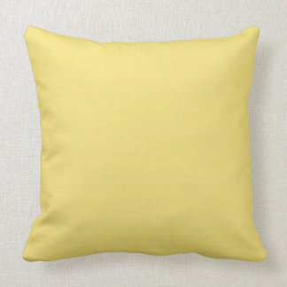 CHIC PILLOW_PRETTY BUTTER YELLOW SOLID THROW PILLOW