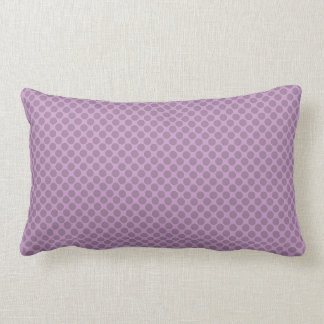 chic pillow,RADIANT ORCHID 2-TONE DOTS Lumbar Cushion
