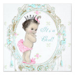 Chic Pink Baby Shower Personalised Invitation