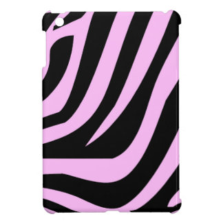 Chic Pink Zebra Print Case For The iPad Mini