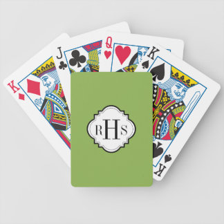 CHIC PLAYING CARDS_PANTONE 2017 COLOR_GREENERY BICYCLE PLAYING CARDS