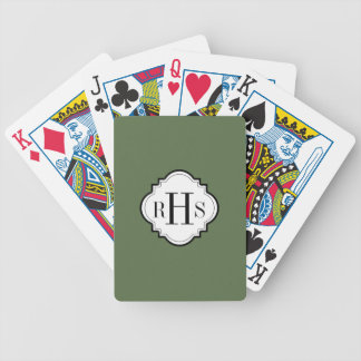CHIC PLAYING CARDS_PANTONE 2017 COLOR_KALE BICYCLE PLAYING CARDS