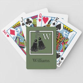 CHIC PLAYING CARDS_PANTONE 2017_KALE BICYCLE PLAYING CARDS