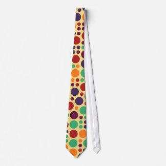 Chic Polka Dot Mosaic Pattern #4 Tie