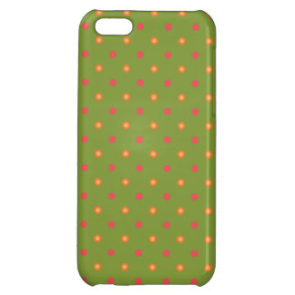 Chic Poppy Colours Polka Dots iPhone 5c Savvy Case