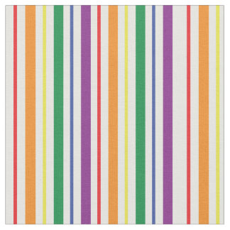 Chic Rainbow Carnival Stripes Pattern