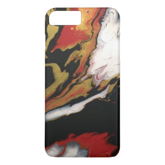 Chic Red Black & Gold iphone case
