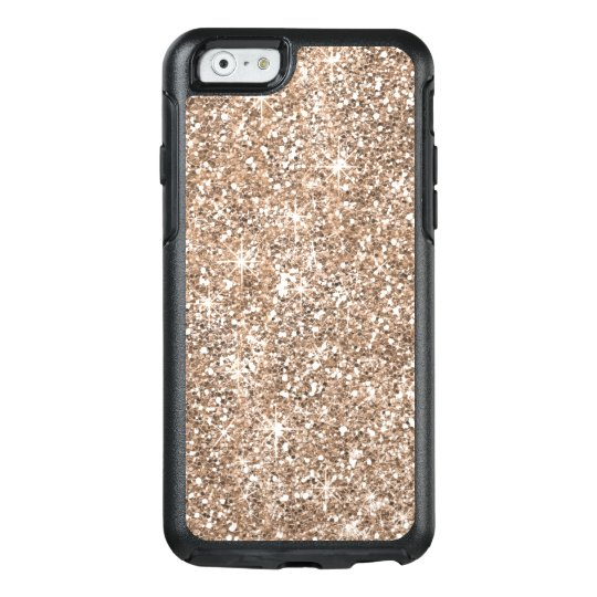 Chic Rose Gold Glitter Otterbox iPhone 6/6s Case