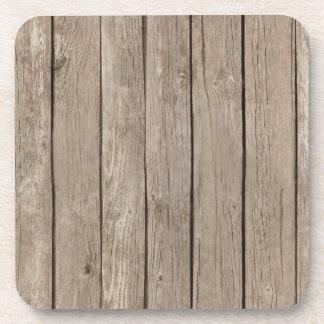 Chic Rustic Wood Coaster
