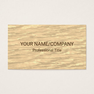 Chic Sepia Pattern Background Business Card