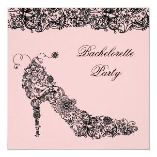 Chic Shoe ~ Invitations
