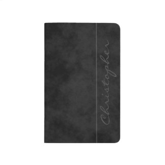 * Chic Signature Mottled Black Journals