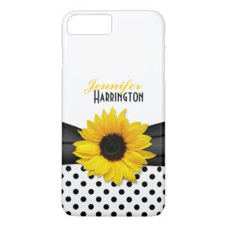 Chic Sunflower Polka Dot iPhone 8 Plus/7 Plus Case