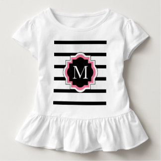 CHIC TSHIRT_ PREPPY TODDLER T_PINK/BLACK/WHITE TODDLER T-Shirt