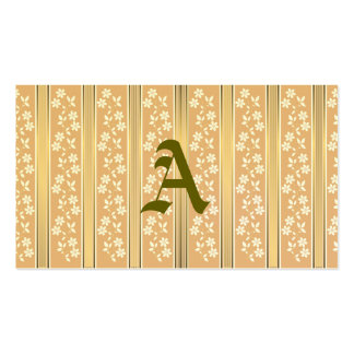 chic,wall paper,champagne,gold,floral,stripes,mode pack of standard business cards