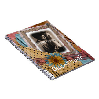 Chic Wedding or Shower Guestbook Notebook