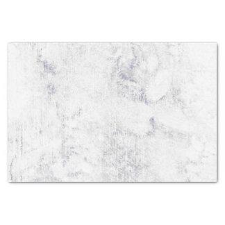 Chic White & Gray Marble Wedding Tissue Paper