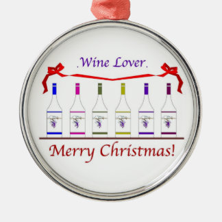 CHIC WINE LOVERS ORNAMENT