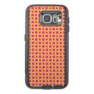 Chic Yellow Pink Polka Dot OtterBox Samsung Galaxy S6 Case