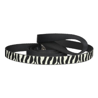 Chic  Zebra Print Pet Leash
