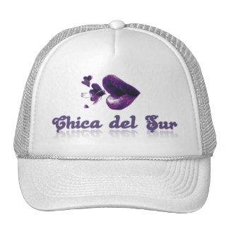 Chica del Sur Hats