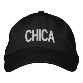 Chica Embroidered Baseball Caps