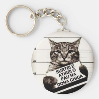 chica owner basic round button key ring