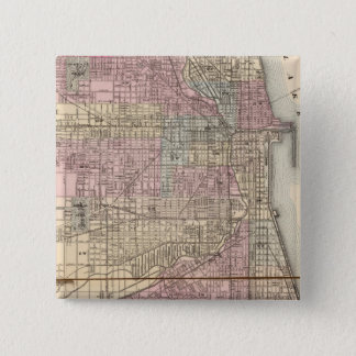 Chicago 15 Cm Square Badge