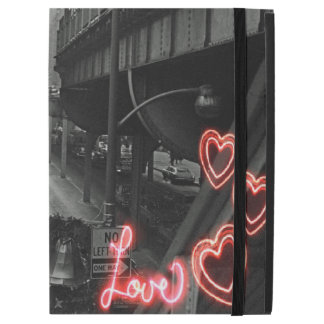 "Chicago 1960's Blackhawk Restaurant Sign Neon Love iPad Pro 12.9"" Case"