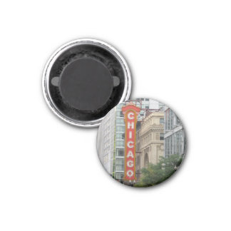 Chicago 3 Cm Round Magnet