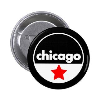 Chicago 6 Cm Round Badge