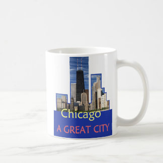 CHICAGO A Great City Windy City Mug