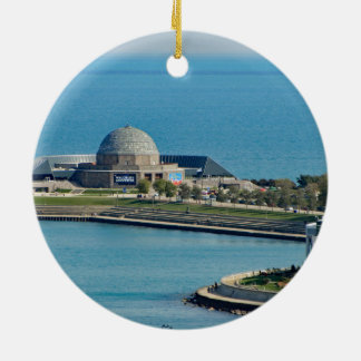 Chicago Adler Planetarium Christmas Ornament