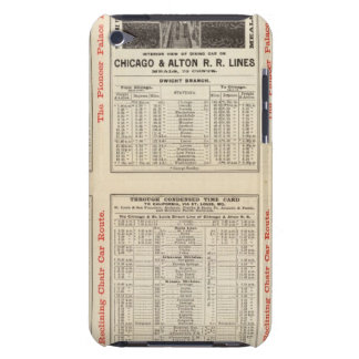 Chicago and Alton Railroad 3 iPod Case-Mate Cases