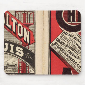 Chicago and Alton Railroad Mouse Mat