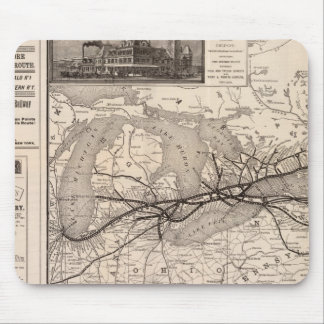 Chicago and Grand Trunk Railway Mouse Mat