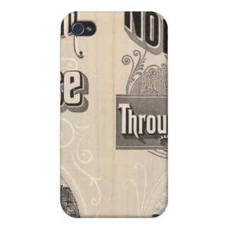 Chicago and North Western Line Covers For iPhone 4