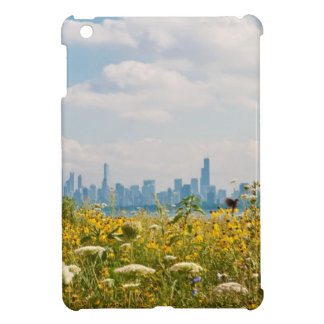 Chicago as seen from Montrose Harbor's bird Cover For The iPad Mini