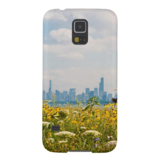 Chicago as seen from Montrose Harbor's bird Galaxy S5 Cases