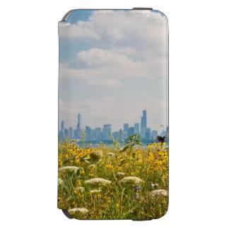 Chicago as seen from Montrose Harbor's bird Incipio Watson™ iPhone 6 Wallet Case