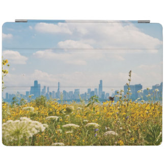 Chicago as seen from Montrose Harbor's bird iPad Cover