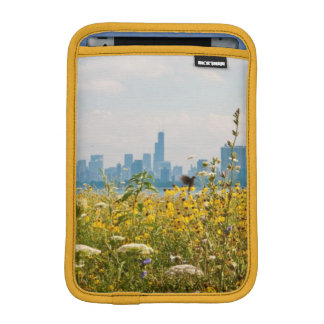 Chicago as seen from Montrose Harbor's bird iPad Mini Sleeve