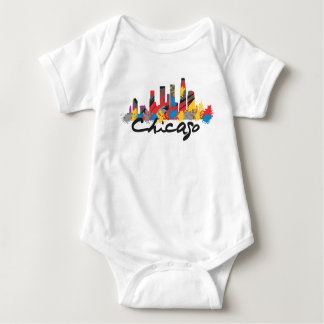 Chicago Baby Baby Bodysuit