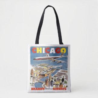 Chicago Barniff Airways  Travel Tote vintage bag