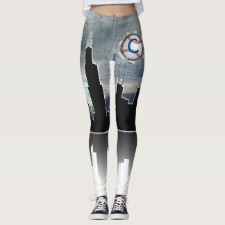 Chicago Baseball and L-Train Leggings
