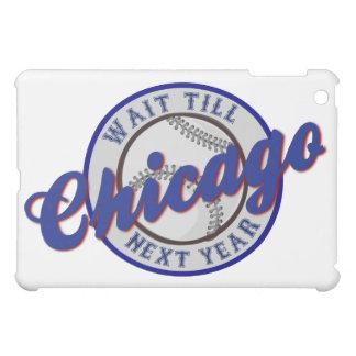 "Chicago Baseball ""Wait Till Next Year"" Sports Logo iPad Mini Cases"