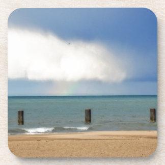 Chicago beach coasters