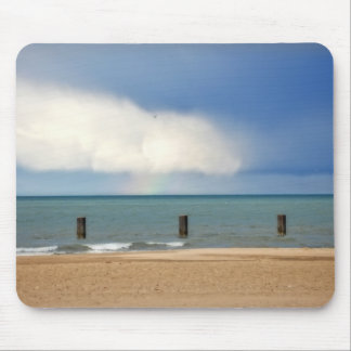 Chicago beach mouse pad